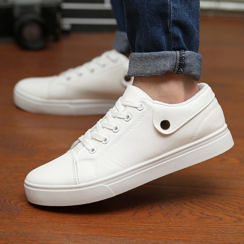 Manresar  Hombres de cuero de LA PU Zapatos Casuales Nuevos de Encaje Cómodo Zap