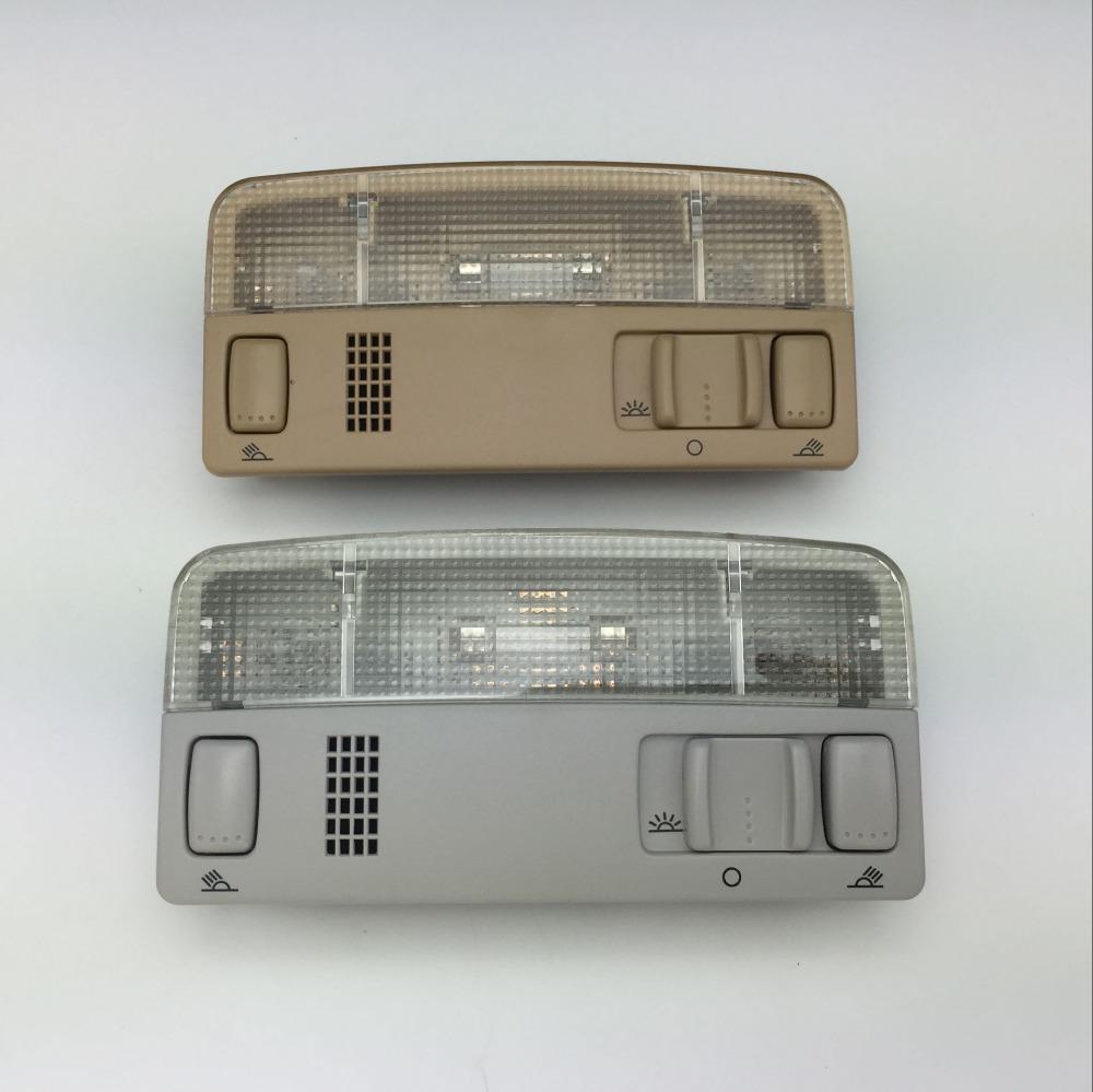 Prix pour Pour VW Passat B5 Polo Touran Golf MK4 Skoda Octavia dôme Lecture Lumière Beige ou Gris Couleur Lampe 1TD 947 105