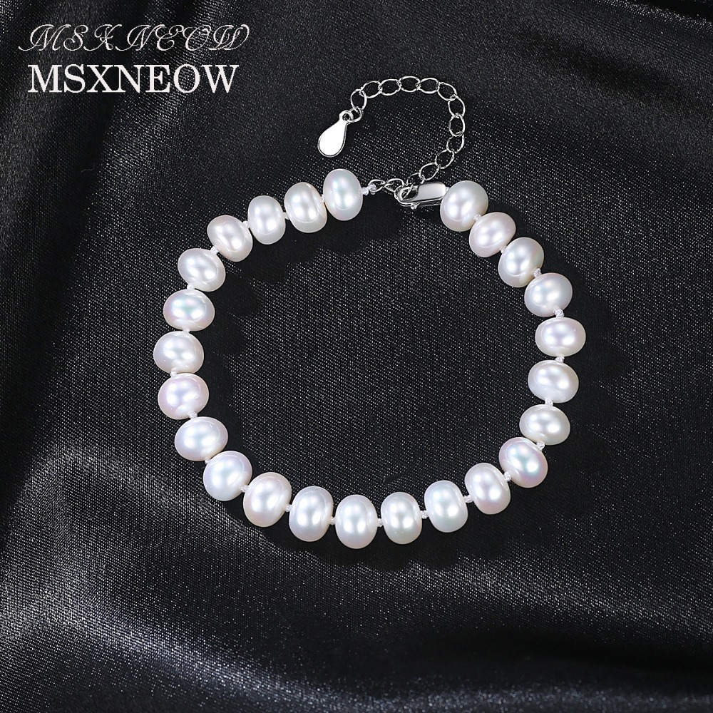 pearls konstantino product cultured bracelet silver and lyst pearl sterling gallery jewelry