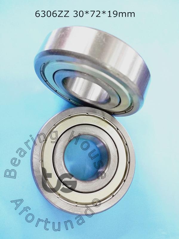 6306ZZ 1Piece bearing 30*72*19(mm) ABEC-5 6306 6306Z 6306ZZ chrome steel deep groove bearing брюки gant gant ga121emaxdh8