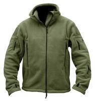 Military Men Deportes Fleece Warm Tactical Softshell zipper Jackets Polartec Thermal Polar Hooded Coats Outerwear Army Clothes