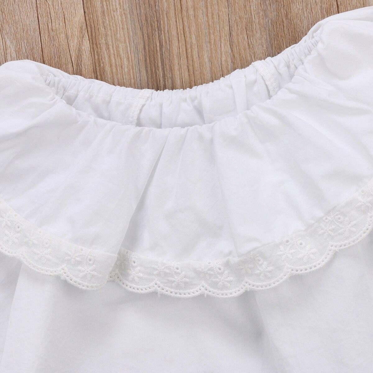 ef485452057a Pretty Newborn Baby Girls Infant Kids Princess Lace Collar Cotton ...