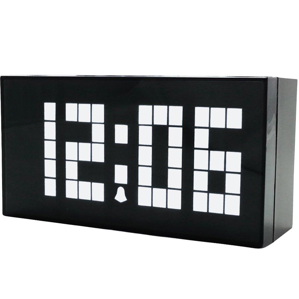 Μεγάλοι αριθμοί Ψηφιακό ρολόι τοίχου - Διακόσμηση σπιτιού - Φωτογραφία 2