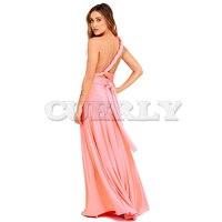Sexy Women Boho Maxi Club Dress Red Bandage Long Dress Party Multiway Bridesmaids Convertible Robe Longue Femme 2019