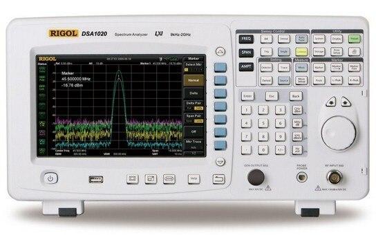 Fast arrival Rigol DSA1020 2 GHz Spectrum Analyzer spectroanalysis