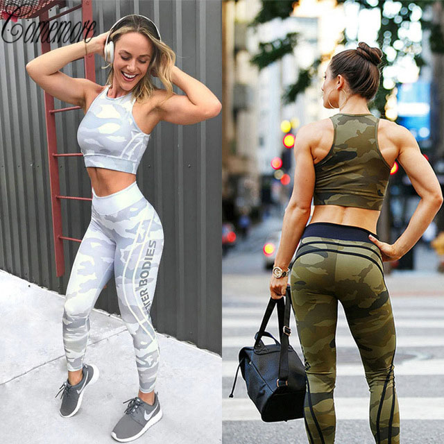 Sport Leggings Stretch Print Sportswear Yoga Leggins Women Yoga Pants Workout Fitness Clothing Jogging Running Pants Gym Tights