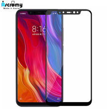 Ascromy 5D Full Cover Screenprotector Film For Xiaomi Redmi Note 5 pro 5 Plus 6A 5A MI 8 SE A2 A1 6X Tempered Glass Verre Trempe(China)