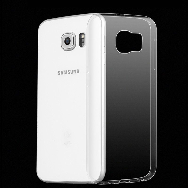 Transparent Slim Clear TPU Armor Case For Samsung Galaxy S8 S8 Plus S6 S7 Edge Plus S5 Mini Note 2 3 4 5 7 Soft Rubber Cover