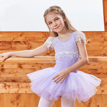 New Arrival Girls Dresses Pink Black Cotton Princess Dress Kids Kanak-kanak Fluffy Gymnastics Ballet Tutu Dress