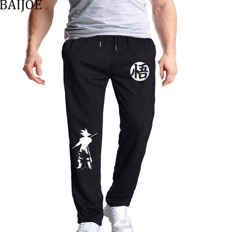 100% QualitäT 2018 Herbst Neue Casual Lustige Drucken Dragon Ball Goku Männer Hosen Baumwolle Grau Mens Jogger Jogginghose Schwarz Hosen Pantal In Den Spezifikationen VervollstäNdigen