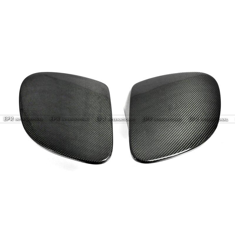 カーボンファイバーヘッドライトカバー 2 個用カースタイリング RX7 FD3S OEM 光沢仕上げボンネットチューニング部品カーアクセサリーランプキャップキット  グループ上の 自動車 &バイク からの ボディキット の中 1