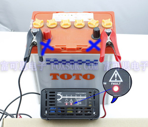 Image 4 - FOXSUR 12 V 10A שלבים חכם מטען לסוללות עופרת חומצה, מטען סוללות לרכב, controll MCU, תשלום דופק מתחזק & Desulfator