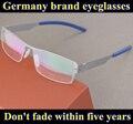 Aço Inoxidável frete grátis ic óculos de armação de quadro óculos unisex screwless reaging ultraleve miopia óculos Oculos de sol Gafas