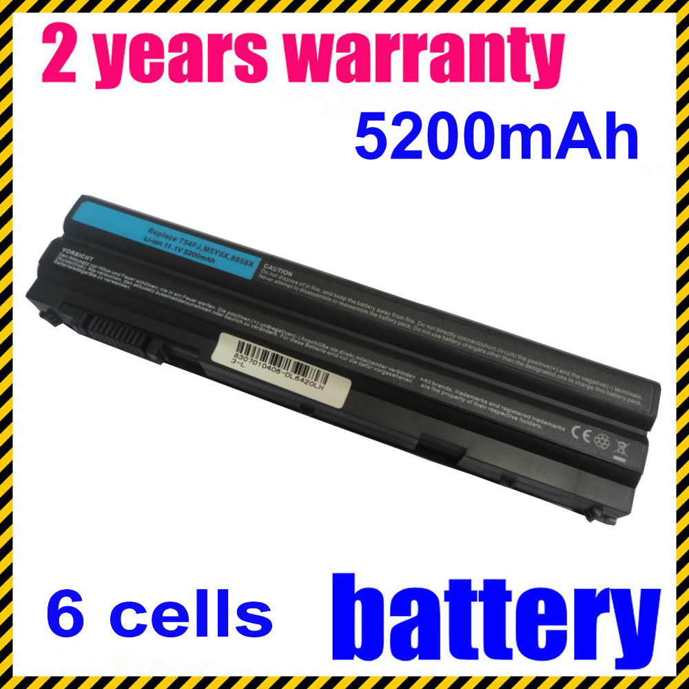 JIGU Laptop Battery For Dell 8P3YX 911MD 8858X Vostro 3460 3560 Latitude E6420 E6520 E6120 n241h laptop battery for dell vostro 1310 1510 6 cell 11 1v 48wh type k738h