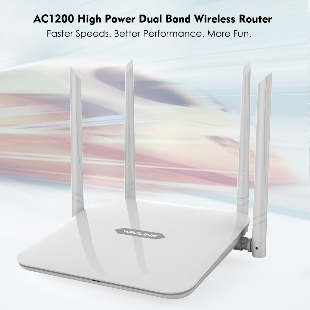 Image 5 - Wavlink Wireless wifi Router /repeater 1200Mbps Dual Band router 5ghz AC1200 High Power Amplifier 2.4Ghz long range extender-in Wireless Routers from Computer & Office