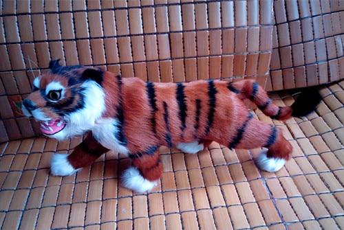 simulation cute tiger 38x19cm model polyethylene&furs tiger model home decoration props ,model gift d424 simulation cute squatting cat 35x28x26cm model polyethylene