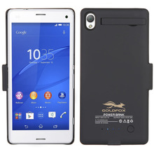 3200mAh Battery Charger Case for Sony Xperia Z3 External Backup Battery Power Bank Case Cover for Sony Z3