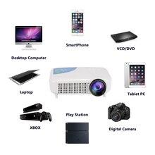 Bluetooth Android Smart Home 4 K Teatro HDMI USB Proyector de Vídeo LED LCD 3000 lúmenes Full HD 1080 P