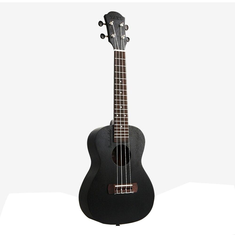 HOT 21 23 26 pouces Concert ukulélé 4 AQUILA cordes hawaïen Sapele mini guitare Uku guitare acoustique Ukelele noir acajou UK2111