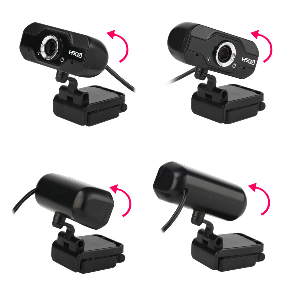 Image 4 - HXSJ S50 USB Web Camera 720P HD 1MP Computer Camera Webcams w/ Built in Sound absorbing Microphone 1280 * 720 Dynamic Resolution-in Webcams from Computer & Office
