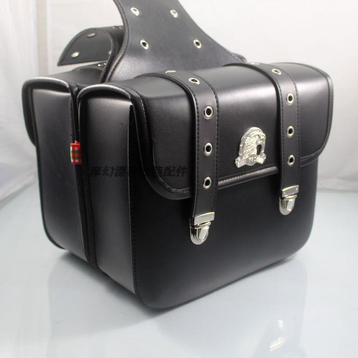 Motorcycle bag side of the package side box saddle bag kit head package Prince eagle head wrapped bag explay для смартфона explay craft