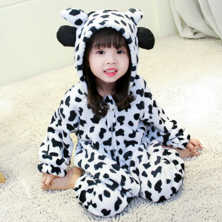 pretty nice 5141a b8751 Baby Autumn and Winter Cute Sleeping Bag Onesies 2018 Autumn and Winter New  Children's Flannel Climbing Romper Girls Pajamas-in Pajama Sets from ...