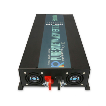 Hot Sale 5000W Solar Power Inverter 24V to 220V Pure Sine Wave Inverter 12V/24V/48V/72V DC to 120V/230V/240V AC Remote Control 3
