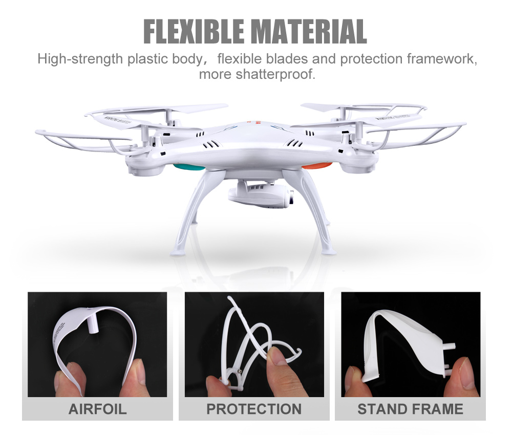 SYMA Official X5SW Drones with Camera HD WiFi FPV Real Time transmission RC Helicopter Quadrocopter RC Dron with Extra Battery 6