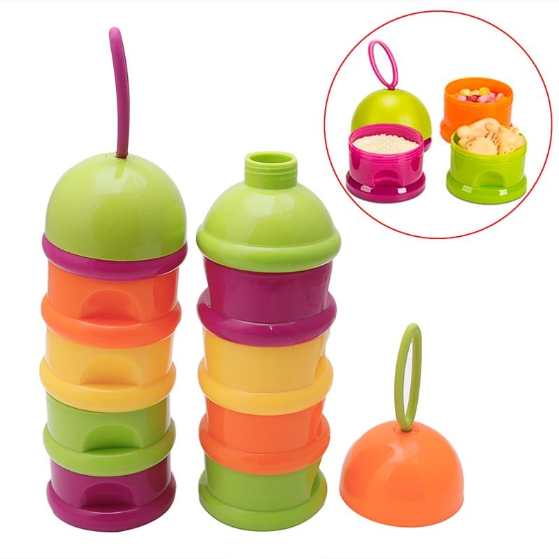 Tragbare Baby Infant Feeding Milchpulver Lebensmittel Aufbewahrungsbox Lebensmittel Flasche Container Farbe Gelegentliche Anlieferung Elegant Und Anmutig Flaschenzuführung