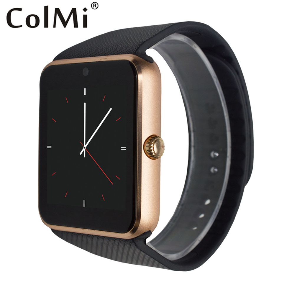 ColMi Smart Watches GT08 Bluetooth Connectivity for iPhone Android Phone Smart Electronics with Sim Card Push