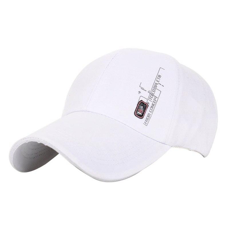 Prix pour Hommes de casual casquettes de baseball pour homme blanc printemps été pare-soleil chapeau femmes coréenne marée coton snapback caps