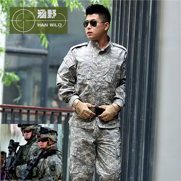 Outdoor US Military Camouflage Sets Plus Size Military Uniforms Tactical Suit Top Quality Outdoor Hunting Equipment XS~4XL