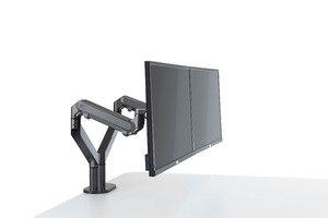 Image 5 - Hyvarwey OZ 2 Đôi Cánh Tay Màn Hình Gắn Chân Đế Để Bàn Full Chuyển Động Nhôm 17 32 Inch Giá Đỡ Khí Mùa Xuân Cánh Tay tải Trọng 2 8kgs Mỗi