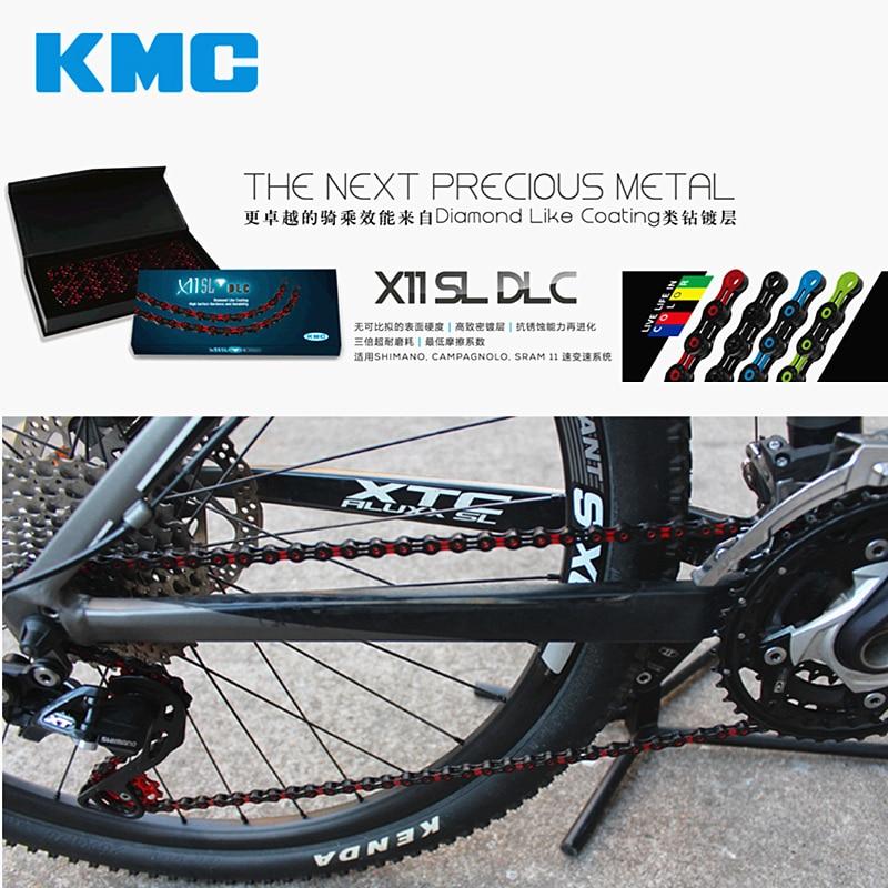 KMC X11SL 11-Speed Chain Green