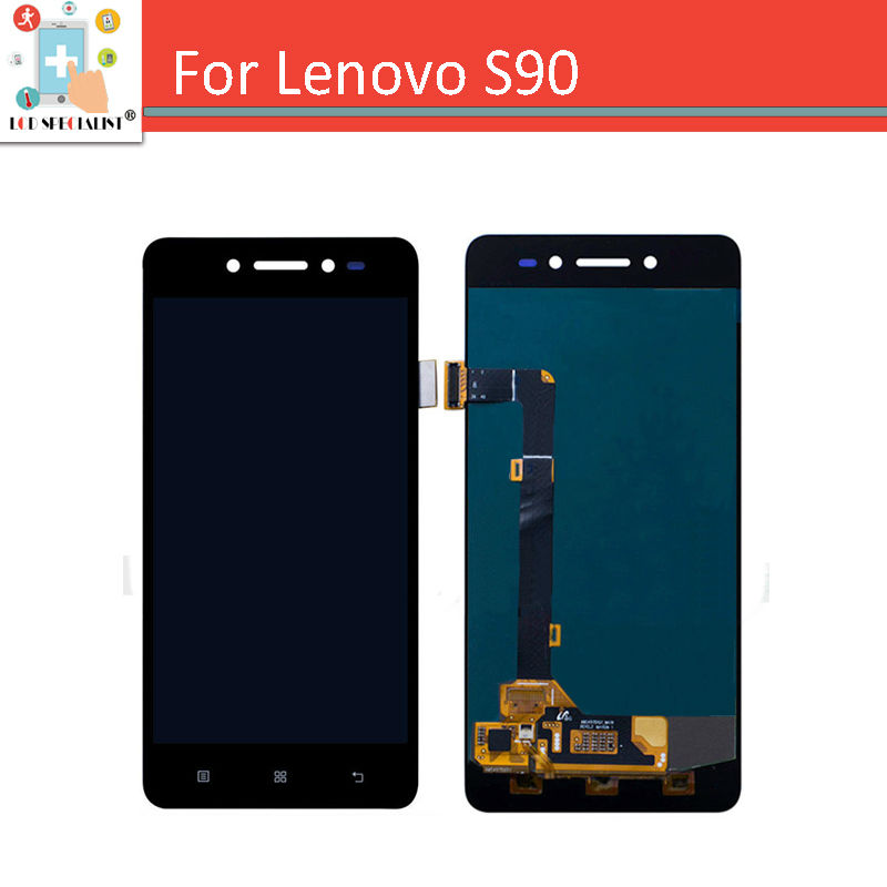 5.0 Black For Lenovo S90 Sisley LCD Display Panel with Touch Screen Digitizer Full Assembly S90T S90U S90A Repair Parts