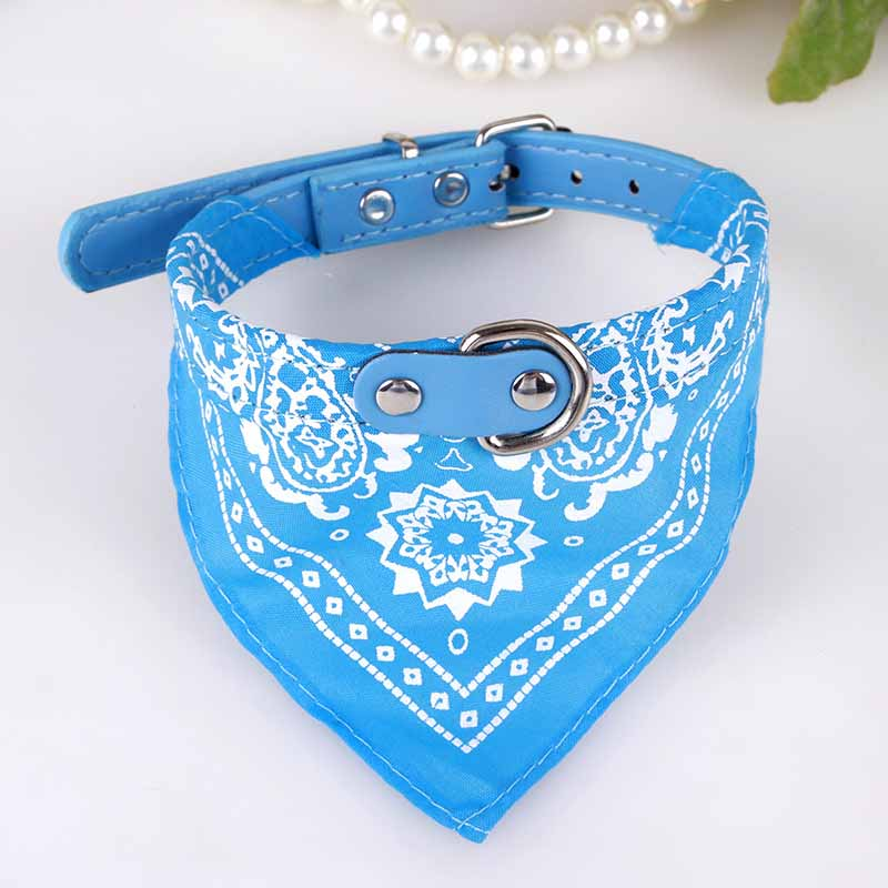 Cute Small Dog Collars Puppy Pet Slobber Towel Dogs Cats