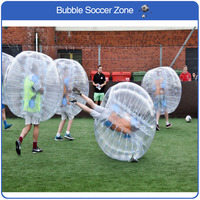 Free Shipping Inflatable Bubble Soccer Ball Bumper Ball Inflatable Zorb Balloon Fun Games Adult Bouncing Ball Soccer Ball