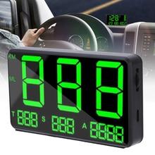 Digital GPS Speedometer HUD Head Up Display MPH KM/h Overspeed Warning Speed Accessories
