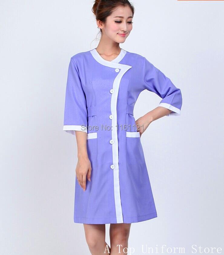 2017 Sale Nursing Scrubs Cap Medical Suit Jalecos Beauty Salon Smock Orthopedic Nurse Dental Clinic Working ,new Design Uniform