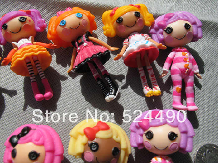 Unique Baby Toys For Girls : Lot pcs lalaloopsy mini dolls inches cm for girl baby