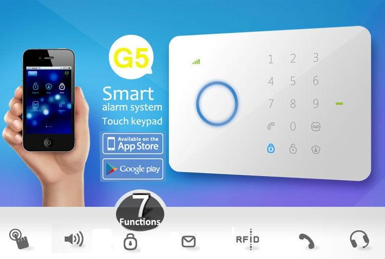 bilder für Etiger 315 Mhz CHUANGO G5 GSM SMS Einbrecher Alarm System G5 Systemsteuerung Nur