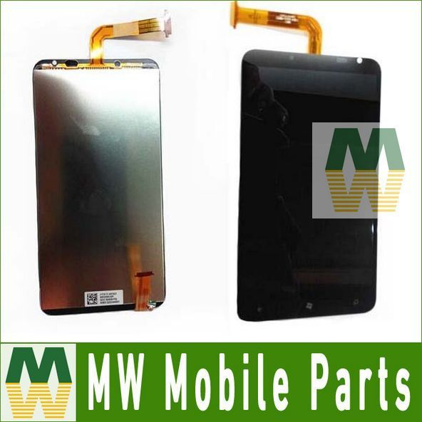 1PC /Lot Black color For LCD Display And Touch Screen Digitizer For HTC Titan Eternity X310E
