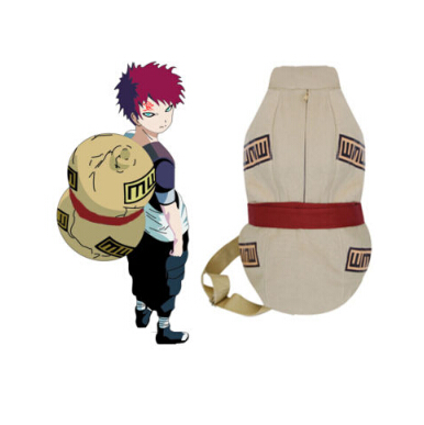 NARUTO Cosplay Costume Sabaku No Gaara Bottle Gourd Bag Backpack Shoulder Bag Gift 38X46CM aqualung axiom i3 bcd blue