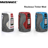 Original Wismec Reuleaux Tinker Mod 300W Box Mod Vape Support COLUMN Atomizer RDA/RTA Tank Electronic Cigarette Vaper Kit