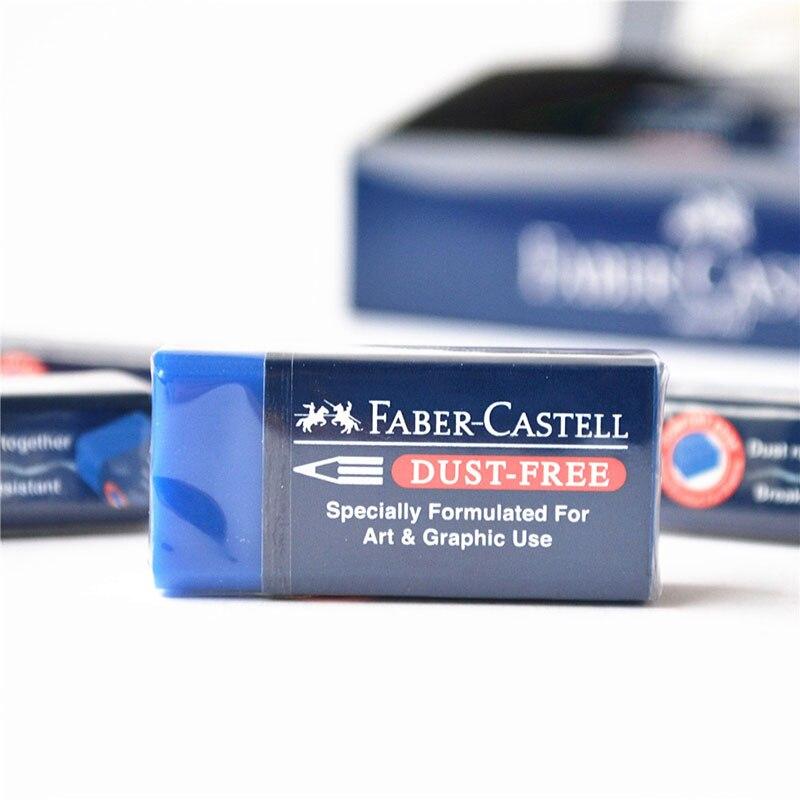 FABER CASTELL Super clean 1871-70 non chip blue rubber color lead paint special eraser ral k7 paint color page chip card brochure