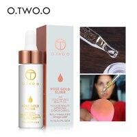 O. Два. O 24 K розовое золото эликсир эфирное масло основа под макияж губ Face Base Make Up витамин увлажняющий крем быстрое впитывание лицо Care9116