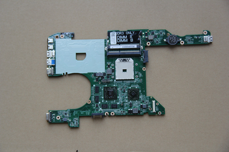 CN-013RTP 013RTP 13RTP For DELL Inspiron M421R Laptop motherboard DA0R0AMB6D0 with 216-0833002 GPU Onboard DDR3 fully tested original for dell 0x836m x836m poweredge r510 8 bay sas riser board backplane cn 0x836m fully tested