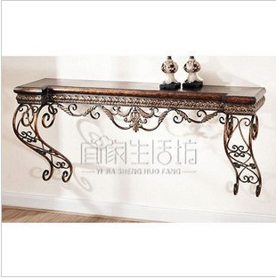 Cheap Iron Console Tables Dresser Dressing Tables Wall Mounted Console Table  Altar Temple Entrance Station