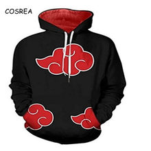 Anime Naruto Hokage Hoodie Men Long Sleeve Pullovers Oversized Cropped Hooded One Piece Jacket Sweatshirt Cosplay Costumes(China)