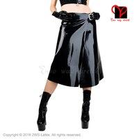 Пикантные черные сапоги латекс килт с ремни резиновые юбка открытым Gummi Playsuit Bodycon плавки Большие размеры XXXL резиновая килт размер XXXL QZ 057